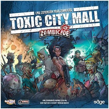 Edge Entertainment - Toxic City Mall, expansión para Zombicide (ZC02): Amazon.es: Juguetes y juegos