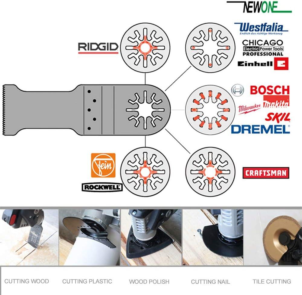 NEWONE 11PCS  Multitool Oscillating Saw Blades With Bi-metal Saw Blade
