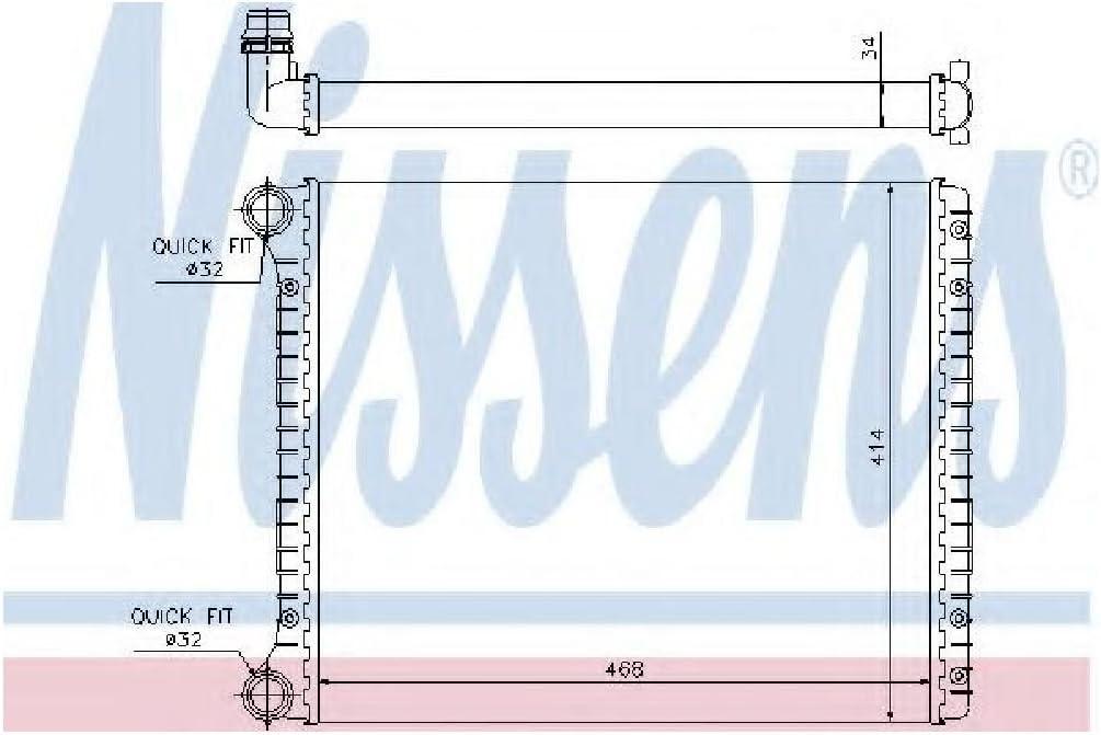 Motork/ühlung Nissens 60426 K/ühler