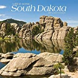 South Dakota, Wild & Scenic 2019 12 x 12 Inch Monthly Square Wall Calendar, USA United States of America Midwest State Nature (Multilingual Edition)