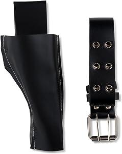 Dress Up America Kids' Little Police Belt and Gun Holster Set, black