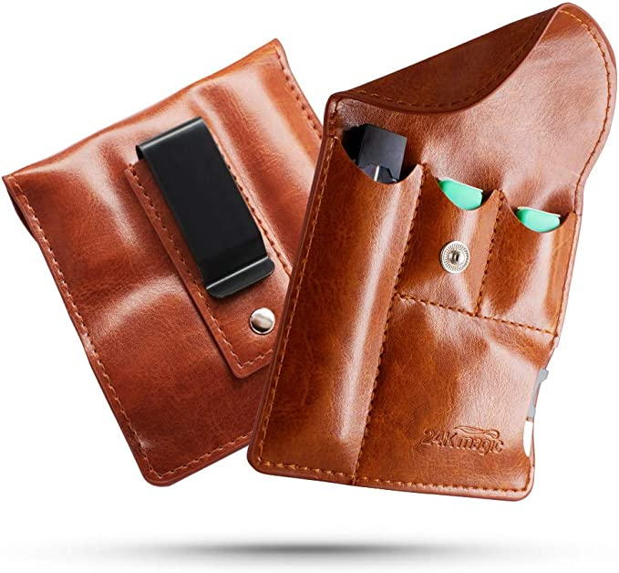 Cartera con estuche portátil Juul, bolsa de cigarrillo electrónico para el cinturón del cargador Juul Pods y Juul, dispositivo no incluido: Amazon.es: Salud y cuidado personal