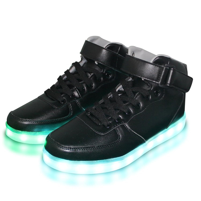 Women Men Dance High Top LED Light Up Shoes Flashing Sport Sneakers:  Amazon.ca: Shoes & Handbags