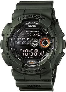 Casio G-SHOCK Reloj Digital, 20 BAR, Verde, para Hombre, GD-100MS-3ER
