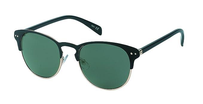 Chic-Net Gafas de sol Panto de metal alrededor de puntos de ...