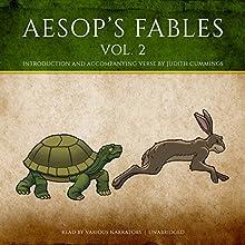 Aesop's Fables, Vol. 2 Audiobook by  Aesop, Judith Cummings - contributor Narrated by Stephen Beacham, Harvey Fierstein, Elliott Gould, Joel Grey, Kevin McCarthy, Vanessa Redgrave, Jean Stapleton