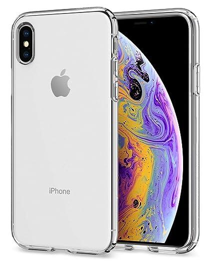 buy popular f1358 d083d Spigen Liquid Crystal Designed for Apple iPhone X Case (2017) - Crystal  Clear (Renewed)
