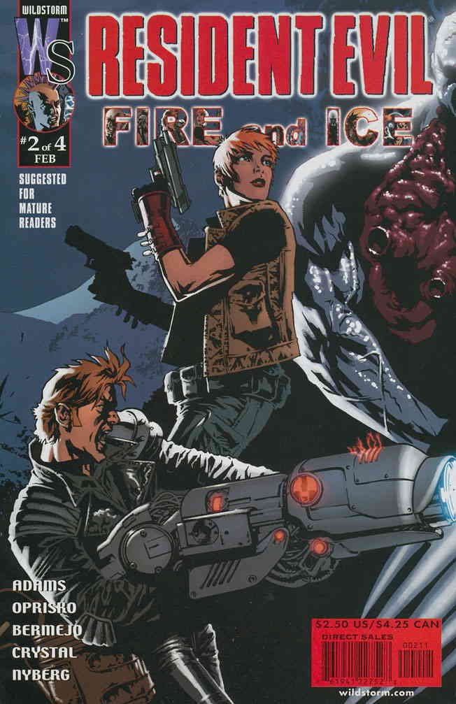 Resident Evil: Fire and Ice #2 VF/NM ; WildStorm comic book