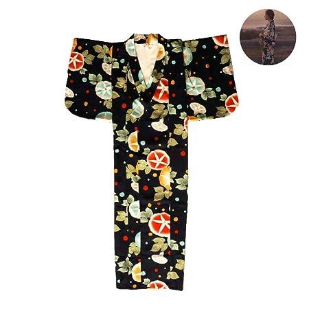 LiXiZhong Kimono De La Mujer, Traje De Albornoz, Yukata ...