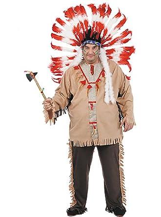 Disfraces FCR - Disfraz indio talla 62: Amazon.es: Ropa y accesorios