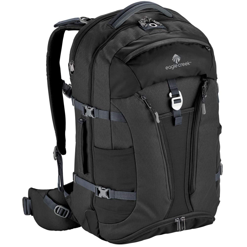 Eagle Creek Global Companion 40L Unisex Backpack Travel Water Resistant Mulituse-17in Laptop Carry-On Luggage, Black
