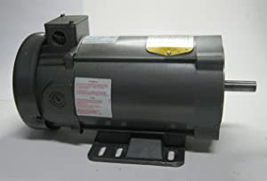 BALDOR CD3450 56C Frame TEFC DC Motor, 0.5 hp, 1750 RPM, 3420D, F1, N