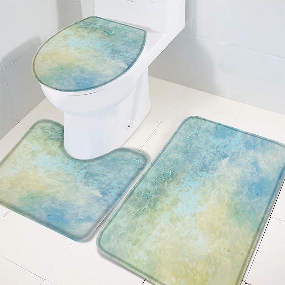 Amazon Com 3 Pieces Bathroom Rugs Set Soft Bath Mats Set Absorbent Bath Rugs Slip Resistant Machine Wash Mats For Tub Shower Bathroom Classic Marble Texture 20 X31 16 X18 16 X20 Home Kitchen