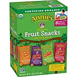 #2: Annie's Organic Bunny Fruit Snacks, Variety Pack, 0.8 oz Each 42 Pouches,
