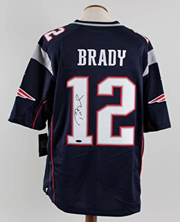 d5bfe89dc Image Unavailable. Image not available for. Color  Tom Brady Signed Jersey  Patriots - COA TriStar