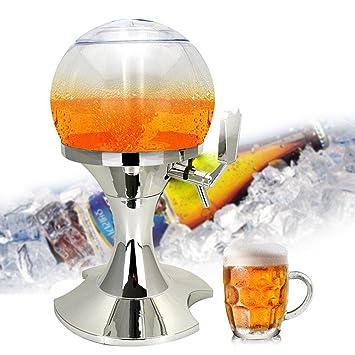 Dispensador de bebidas de hielo, Umiwe 3,5 L Bola Fría Borrador de Bebidas