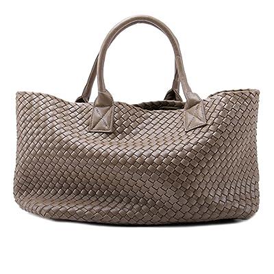 New Womens Woven Tote Handbags Shopping Bag Beach bag w//Bonus Coin Pouch