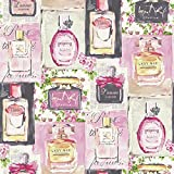Arthouse 670500 Eau De Parfum Fuchsia Wallpaper