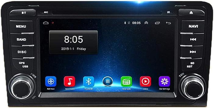 NBVNBV Reproductor de Video Multimedia 7 Pulgadas Navegador GPS para Coche Radio 2G RAM 32G ROM Ajuste para A-u-d-i A3 8P/A3 8P1 3-Door Hatchback/S3 8P/RS3 Sportback,2gb+32gb: Amazon.es: Deportes y aire libre