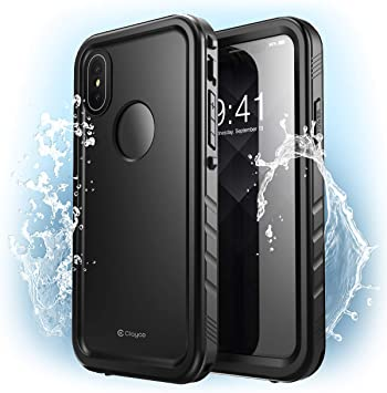Clayco Funda Impermeable para iPhone XS MAX [Omni Serie] Carcasa a ...