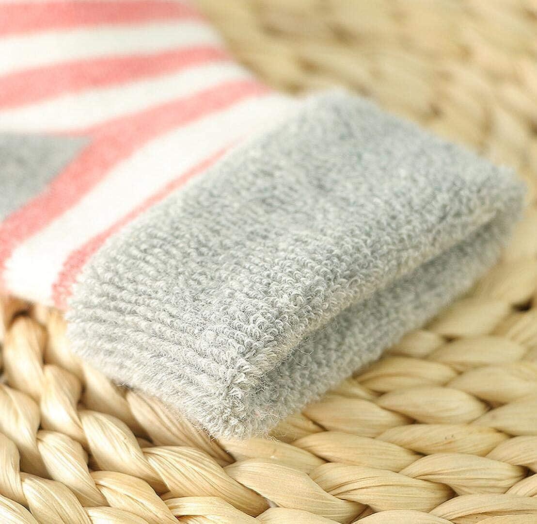 DEBAIJIA Baby Kinder Socken 5 in 1 Set Jugendliche Stricksocke Jungen M/ädchen Baumwolle Bunt Elastisch Weich