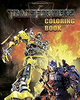 Transformers Coloring Book For Kids Activity 25 Pages