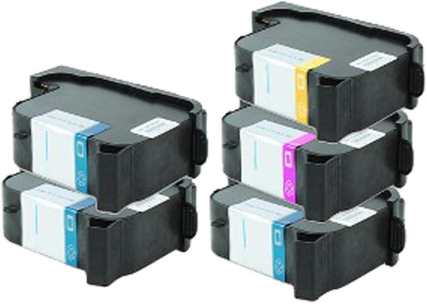 5 Cartuchos de Tinta para HP Designjet 700 C Deskjet 750 Deskjet ...