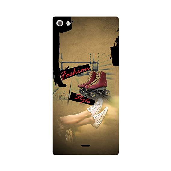 Skintice Designer Back Cover with Direct 3D Sublimation Printing for Micromax Canvas Sliver 5 Q450 Mobile Accessories
