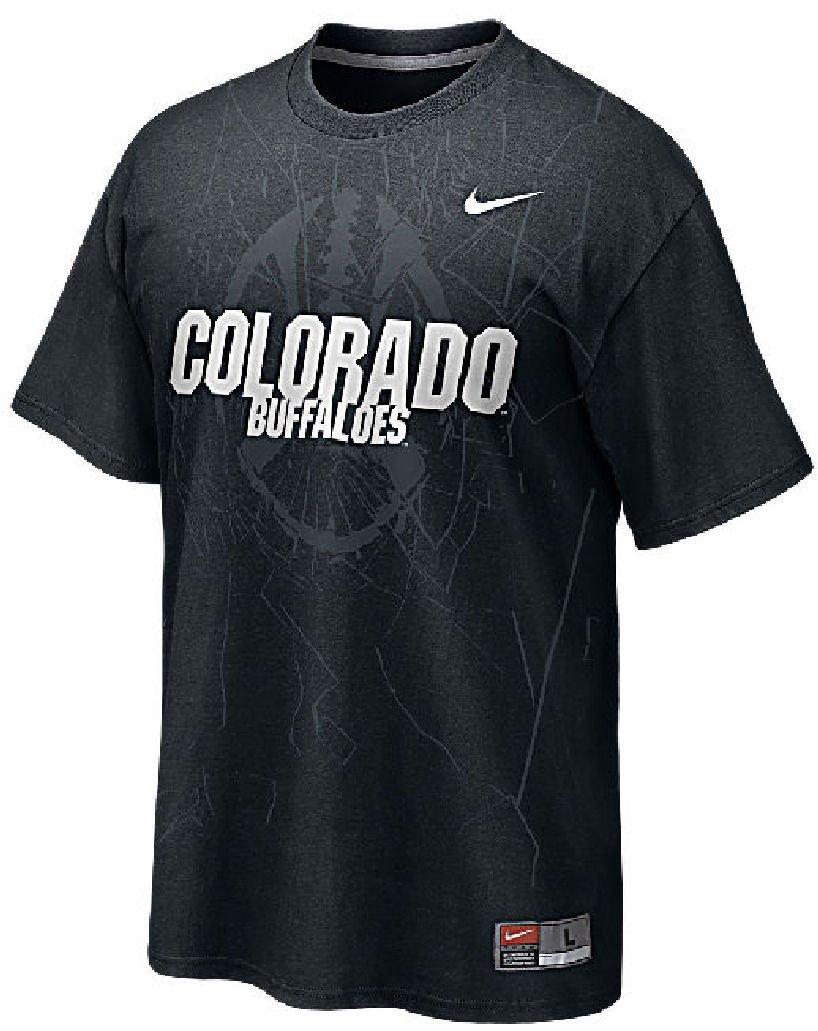 Nike Colorado Buffaloes Camiseta de fútbol Americano práctica Shirt-Black, Negro: Amazon.es: Deportes y aire libre