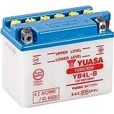 YUASA 61313 - Bateria alta calidad YB4L-B Combipack (con electrolito)