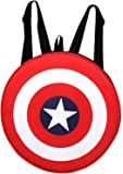 SWAGG Avengers Captain America Shield Polyester Red and Black School Bag