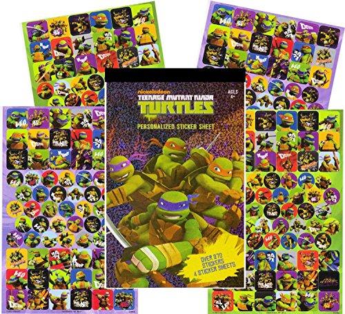(Teenage Mutant Ninja Turtles Sticker Pad - Over 270 TMNT)
