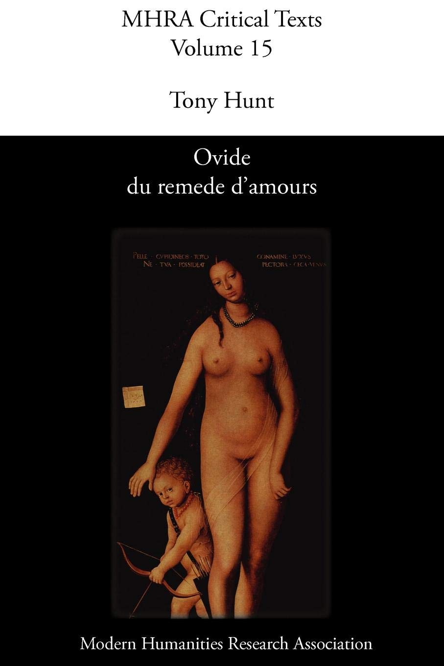 Download Ovide Du Remede D'Amours (Modern Humanities Research Association. Critical Texts; Mhra) (French Edition) PDF