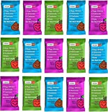 RXBAR Kids Whole Food Protein Bar Variety 15 Bars: Apple Cinnamon, Berry Blast, Chocolate Chip