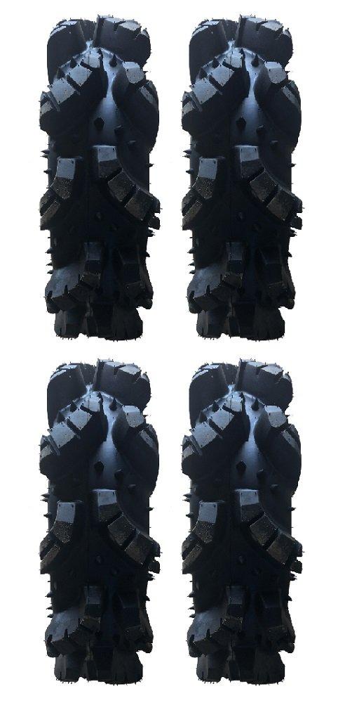 Full set of Turner Cycles Crossbone (8ply) ATV Mud Tires [35.5x9-18] (4)
