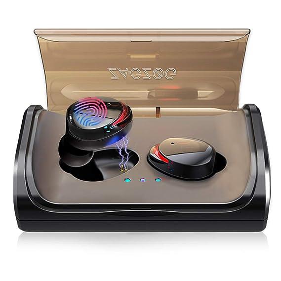 Zagzog Bluetooth Kopfhörer?Sport Kopfhörer Bluetooth Ohrhörer Earbuds In Ear mit Bluetooth 5.0 IPX7 Wasserdicht 3000mAH Ladek