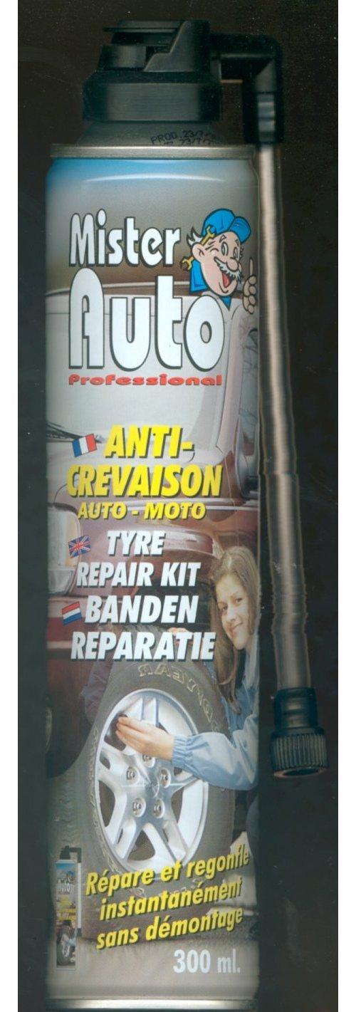 Bombe Anti-Crevaison, Regonfle Pneus Peraline 910240