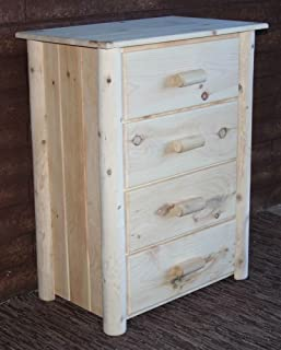 product image for Lakeland Mills Frontier Chest w 4 Drawers, Clear ,