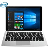 Tablette Tactile avec Clavier - CHUWI Hi10 Pro Tablette PC 2-en-1-10.1 inch IPS écran - Tablette Windows10 + Android 5.1-4 Go de RAM + 64 GB ROM Intel - WIFI Dual Caméra 2.0 MP Blutooth 4.0 Quad