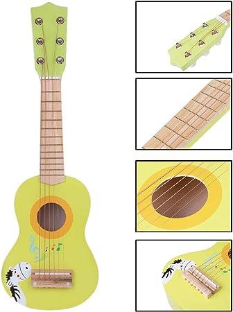 K9CK Guitarra Infantil 23 Guitarra Juguete para Niños 6 Cuerdas ...