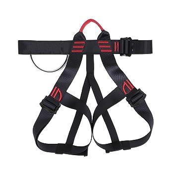 FENGSHUAI Cinturón de Seguridad de Escalada, arnés de Alpinismo de ...