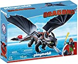 Playmobil How to Train Your Dragon Hiccup & Toothless Building Set