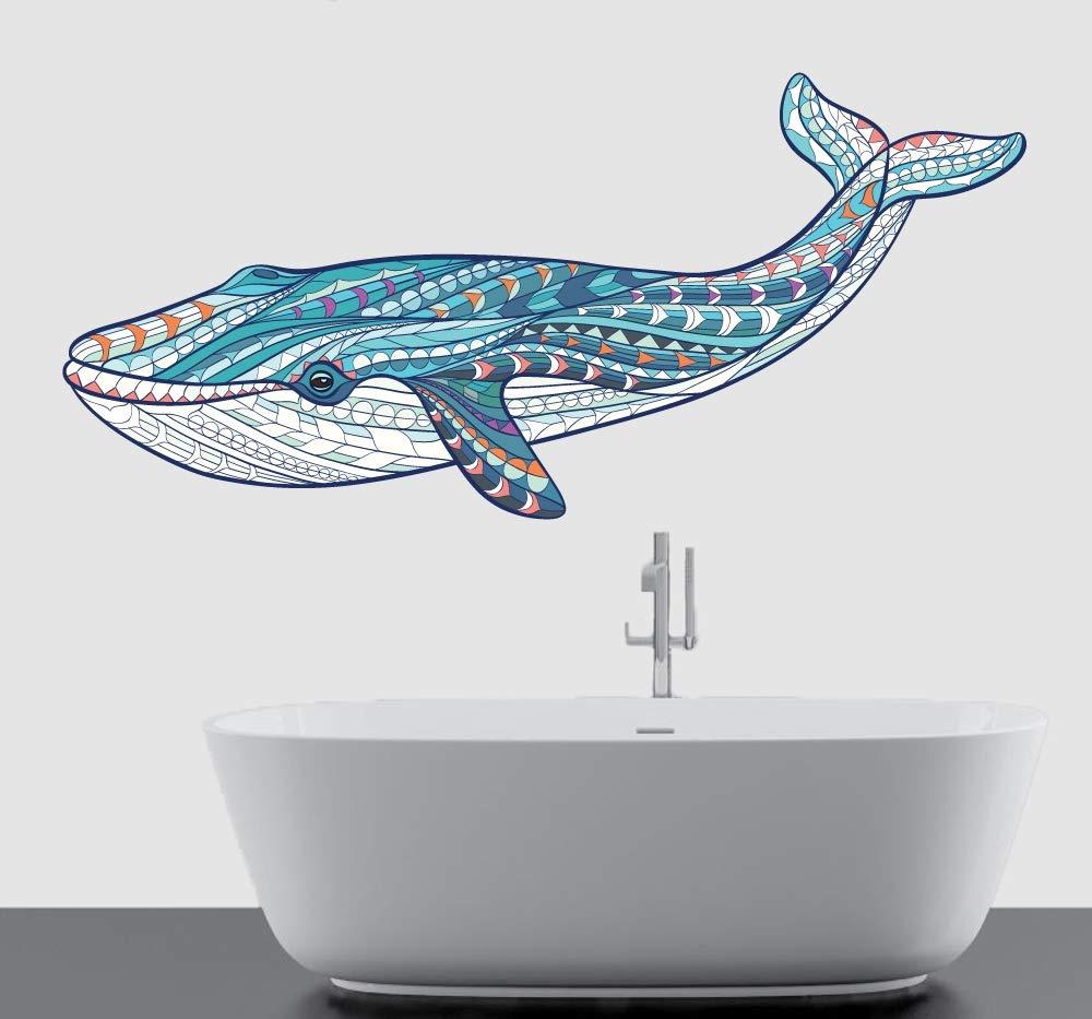 SELECT SIZE Whale Art Vinyl Sticker