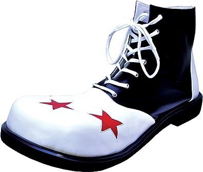 Morris Costumes Clown Black and White Mens Shoe, Large