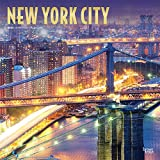 New York City 2020 12 x 12 Inch Monthly Square Wall Calendar with Foil Stamped Cover, USA United States of America New York State Northeast City