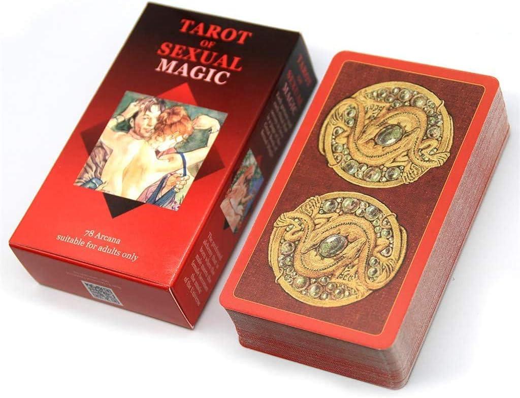 Tarot Es La Creaci/ón Y Aplicaci/ón De Energ/ía para Hacer Cambios En El Mundo Tarot De Magia Sexual Tapa Dura
