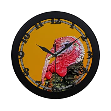 Turkey home office Apartments Image Unavailable Amazoncom Amazoncom Turkey Uswcjul542 New Wall Clock Decorative Decor Home