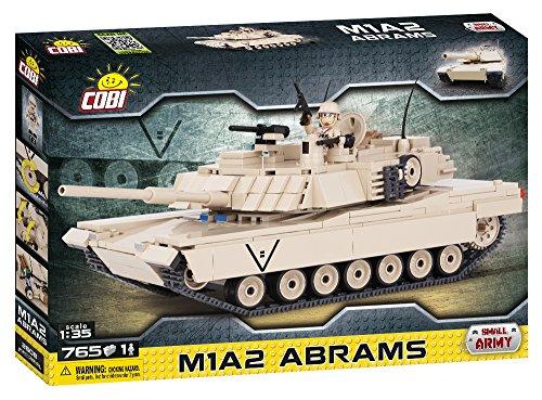 COBI Small Army M1A2 Abrams Tank (Tank Lego)