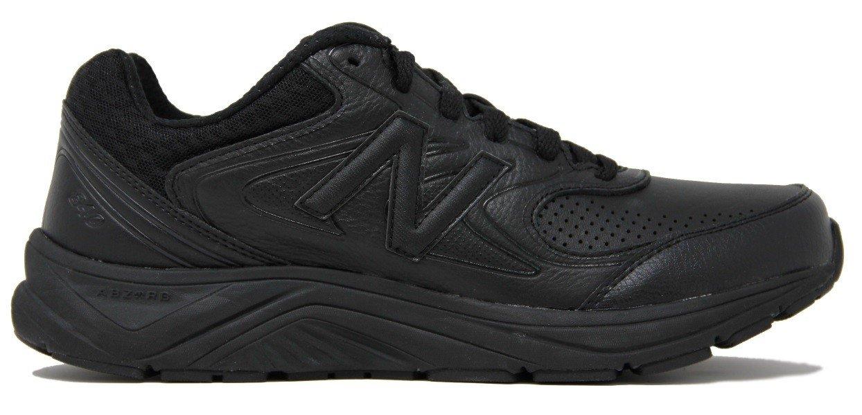 New Balance Men's MW840v2 Walking Shoe, Black/Black, 11.5 4E US