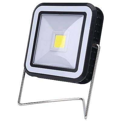 3W Lampe solaire LED Camping tente Lanterne solaire et USB Rechargeable avec support lumière pour Camping Randonnée Extérieur d'activité